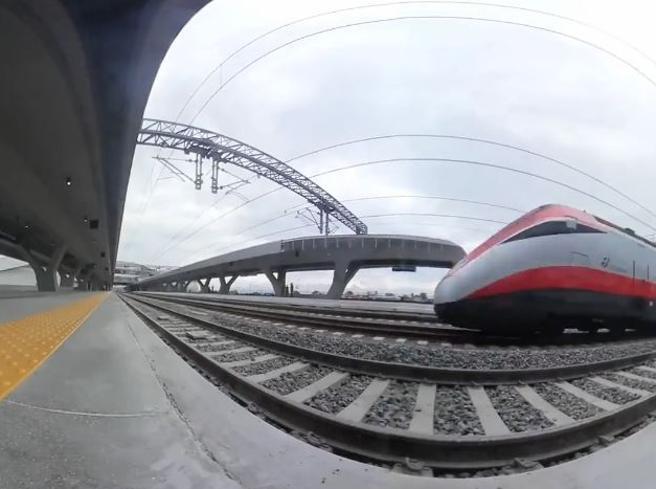 Inaugurata la stazione Alta Velocità di Afragola: le immagini a 360 gradi