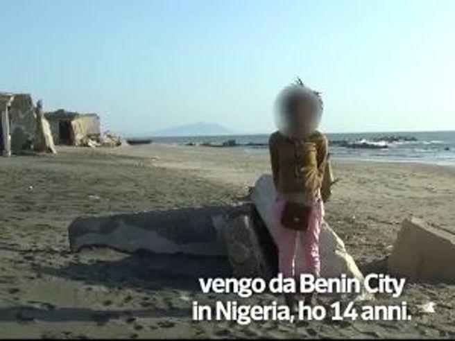 Le tratta delle prostitute bambine nigeriane che arrivano in Italia sui barconi dei migranti