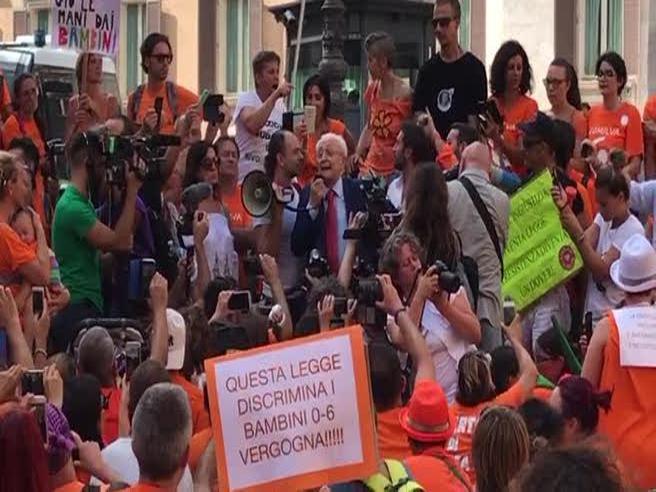 Imposimato (81 anni) guidai freevax: «Decretoinaccettabile»