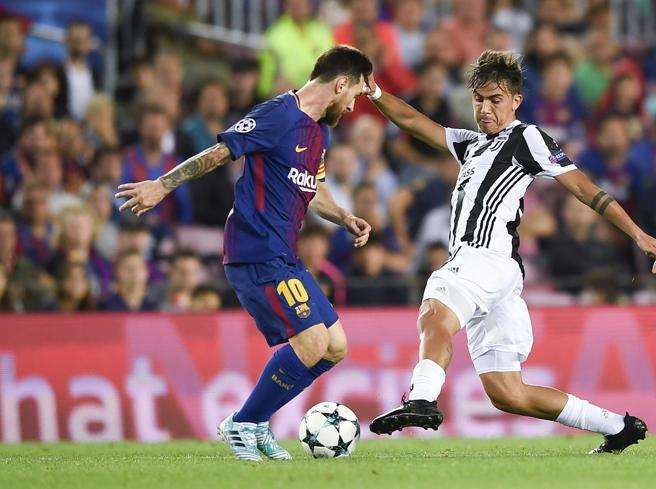 Barcellona-Juventus, Messi fa ballare la difesa  e segna il gol del 3-0