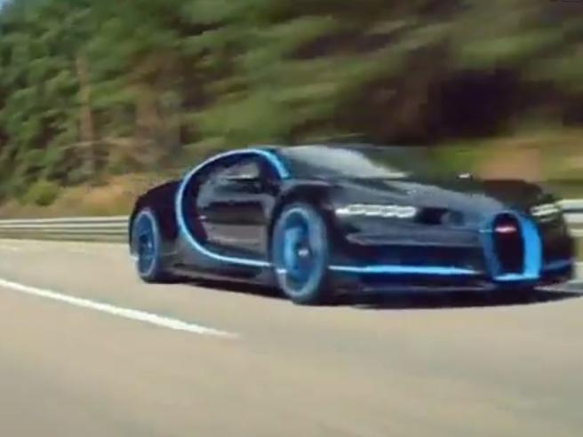 Bugatti Chiron da record da zero a 400 km/h, poi a zero, in 42 secondi