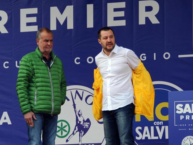 A Pontida il  raduno della Lega,  Bossi non parlerà   La direttaSalvini:  «Da qui parte la  marcia per il governo»