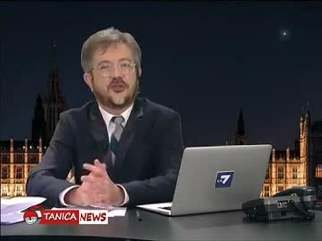 «Tanica News», il tg satirico di Rocco Tanica: «Le barzellette politiche del giorno»