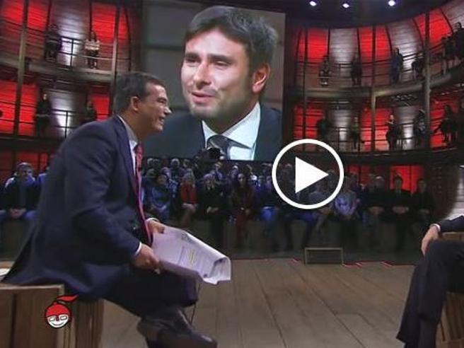 «Di Martedì»,  Di Battista  ospite di Floris: «Il nemico del M5s è l'indifferenza, non Salvini o Berlusconi» Diretta