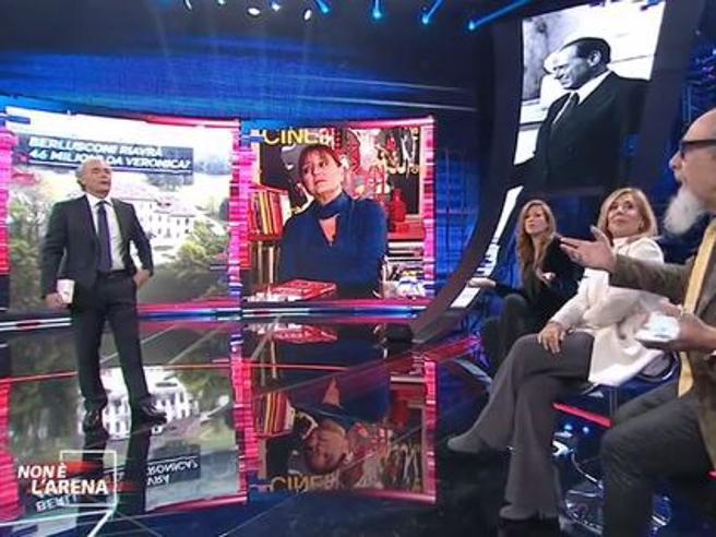 Non è l'Arena, D'Agostino a Giammanco: «Il vero miracolo di Berlusconi? Che tu sieda in Parlamento»