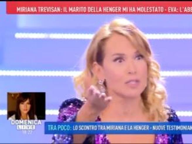 Barbara D'Urso: «Le accuse di Miriana? Se non ha giocato ci vediamo in tribunale io e lei»