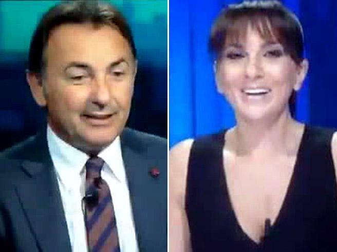 Massimo Mauro: «Vi dico una cosa che sembrerà una str...», e la giornalista: «Fosse la prima volta...»