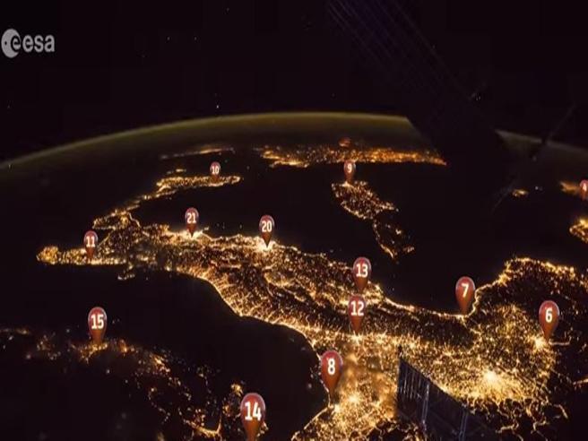 Riconosci le città italiane dallo spazio? Il quiz di Paolo Nespoli dalla Iss