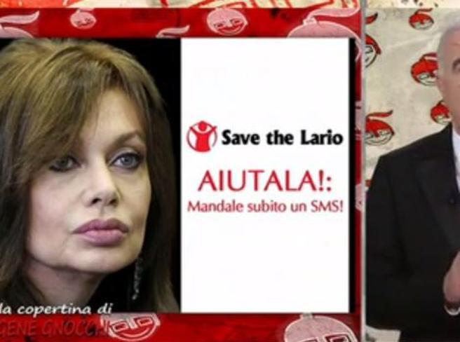 Gene Gnocchi lancia la campagna «Save The Lario»: «Mandate un sms per donare un euro a Veronica»