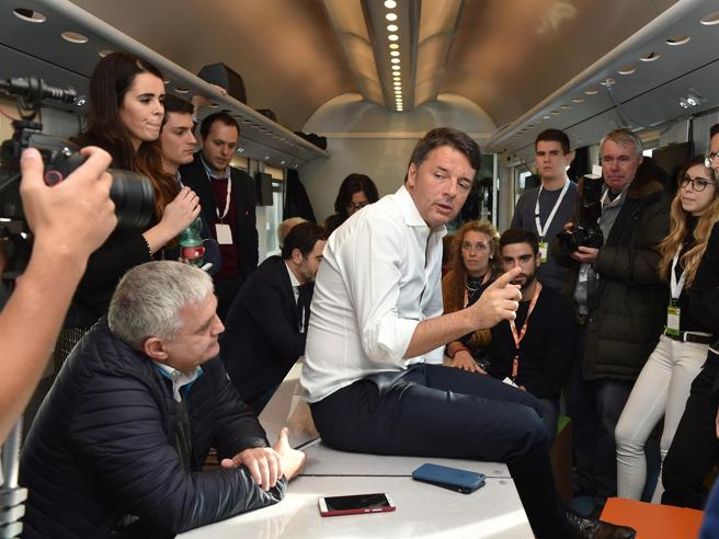 Firenze, Matteo Renzi apre l'ottava edizione della Leopolda  La diretta video