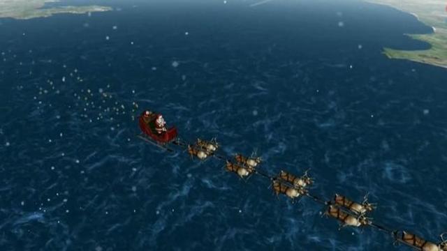 Il Percorso Di Babbo Natale.Il Viaggio Di Babbo Natale In Diretta Corriere Tv