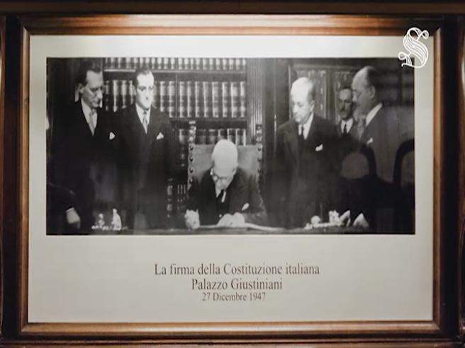 A Palazzo Giustiniani i 70 anni della Costituzione