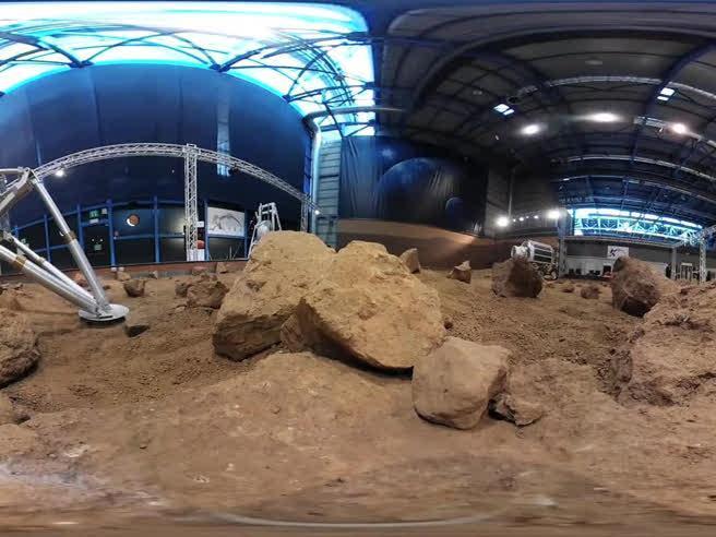 Camminando su Marte (a 360 gradi), a Torino