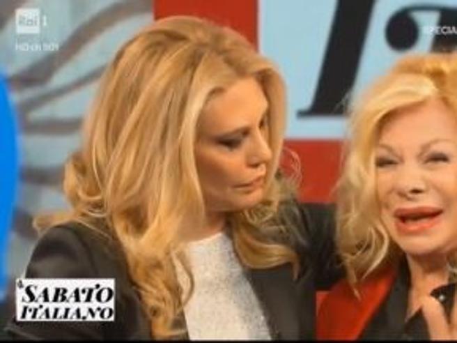 Marina Ripa di Meana, le lacrime di Sandra Milo e Patrizia De Blanck