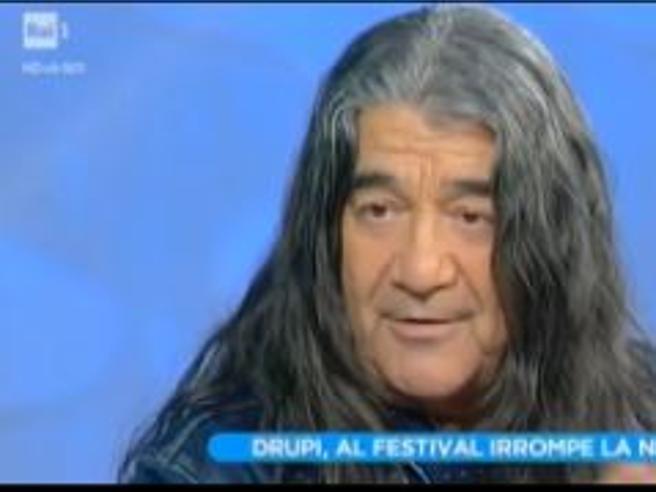 Drupi, la parolaccia in diretta a «Domenica In»