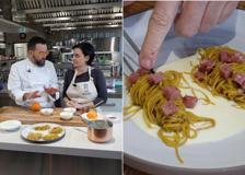 I tagliolini con la farina di lenticchie dello chef Morelli