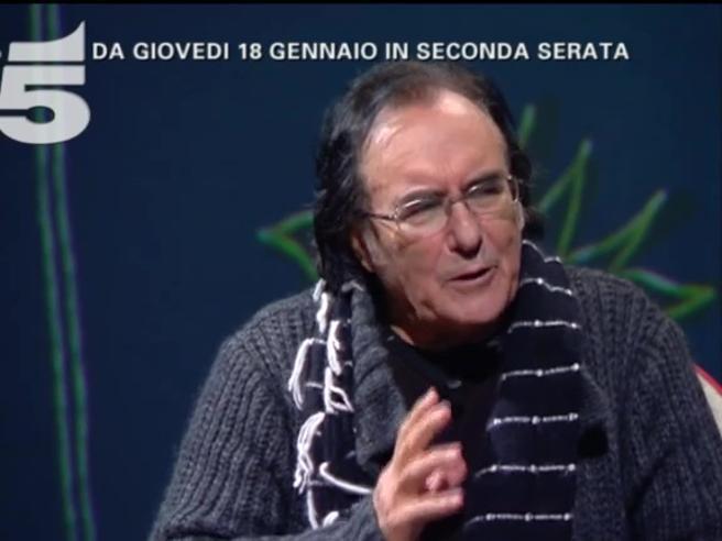 Al Bano da Maurizio Costanzo: «Con chi sei veramente sposato?» Ma lui sorride e non risponde