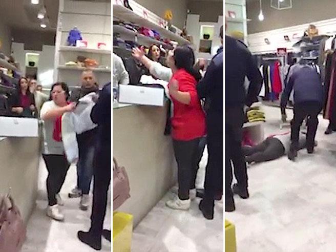 Caserta, la clamorosa sceneggiata della cliente al centro commerciale: «Mi avete venduto il vestito cinese»