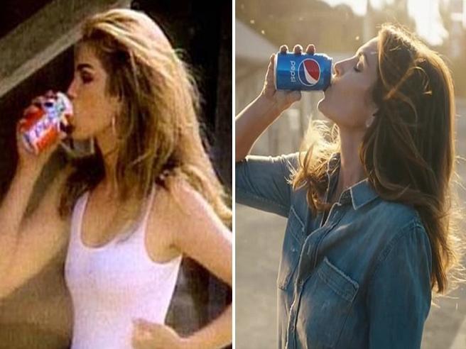 Super Bowl, Cindy Crawford rifà il famoso spot della Pepsi del 1992