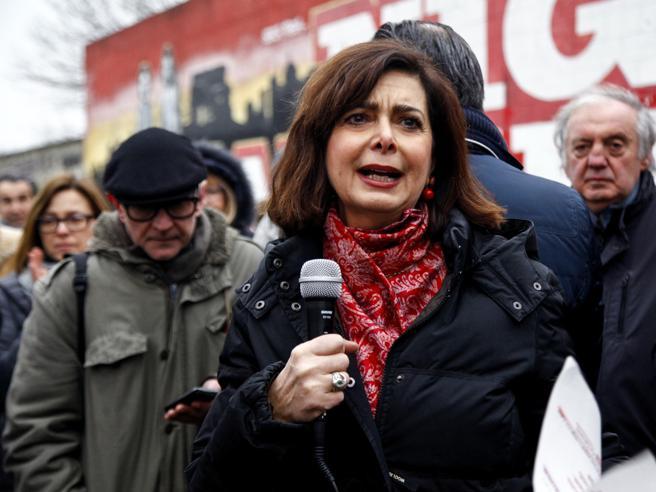 Boldrini: «I gruppi che si ispirano al fascismo vanno sciolti»