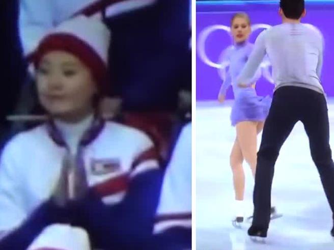 «Che fai? Non devi»: la cheerleader coreana applaude gli americani. Ma la compagna la rimette in riga