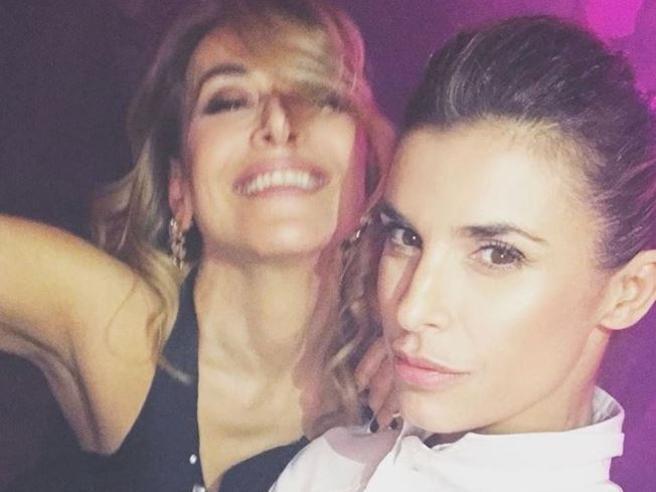 Milano Fashion week, Barbara D'urso ed Elisabetta Canalis scatenate allo «Scandal Party»