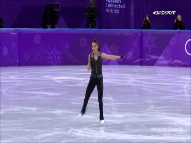 Le Olimpiadi diventano rock: la pattinatrice balla sulle note degli Ac/Dc
