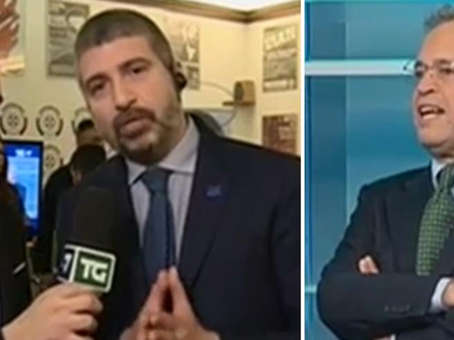 Battibecco durante la maratona tv, Mentana a Di Stefano (Casapound): «Sa con chi parla?»