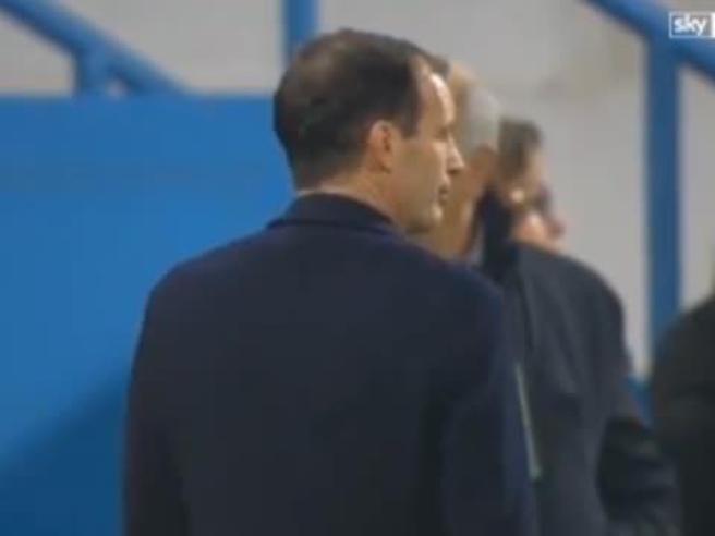 La Juve pareggia sul campo della Spal, Allegri è una furia: lascia il campo prima della fine del match