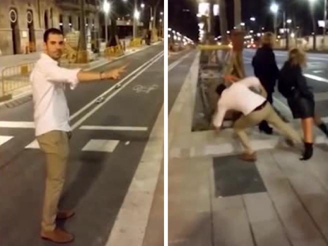 Barcellona, il folle gesto del giovane che ha dato calcio a una donna: 60mila euro di multa e rischia 3 anni di carcere
