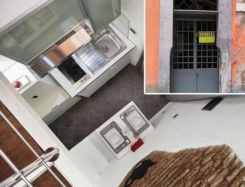A roma la casa pi piccola del mondo 7 metri quadri for Piccolo piano di pagamento della casa