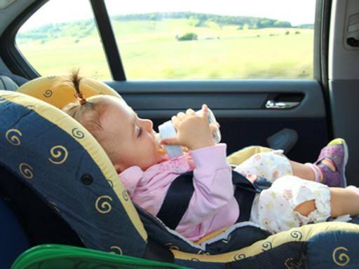 Nei seggiolini-auto per i bimbi il doppio dei batteri di una toilette