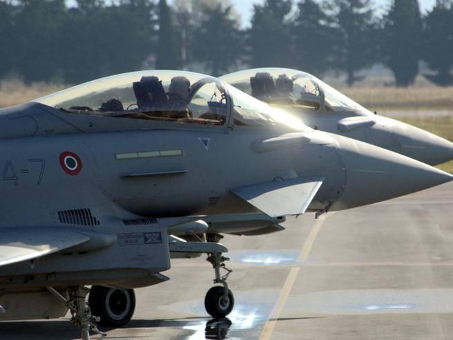 Aereo Da Caccia Russo : Caccia italiani intercettano aereo russo sul mar baltico
