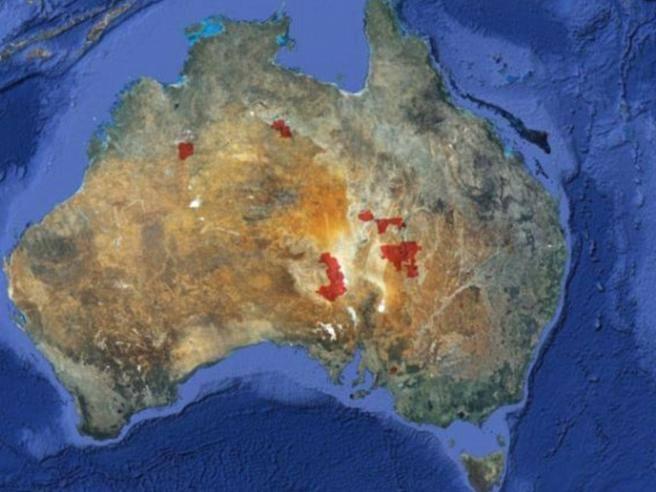 Australia all asta la propriet privata pi grande del for Grandi planimetrie della fattoria