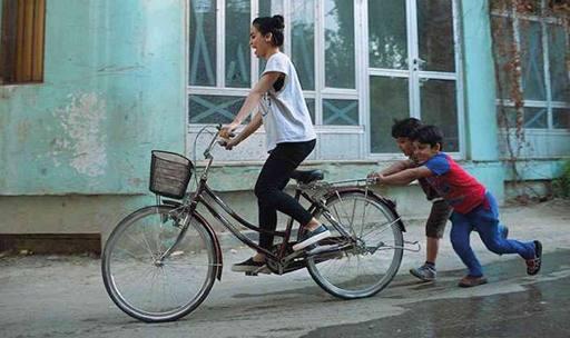 La ciclista di Bagdad