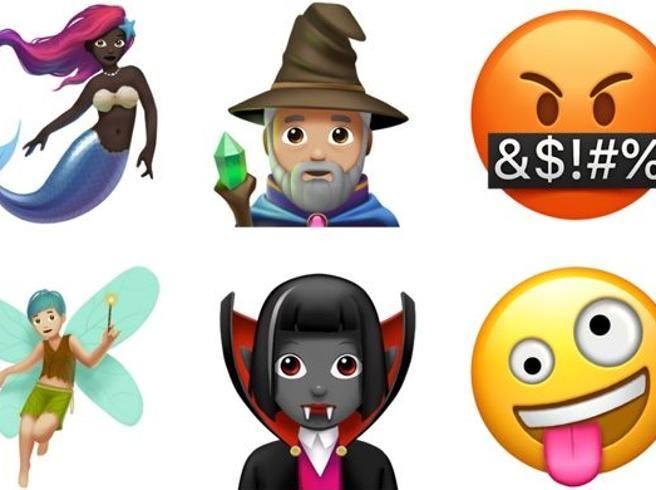 Le Nuove Emoji Per Iphone E Ipad Di Apple Corriere It
