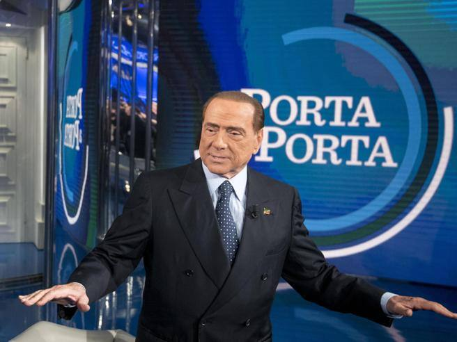 Berlusconi a porta a porta alle politiche sar in campo - Unieuro porta tv ...
