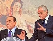 Silvio Berlusconi e Gianni Letta (Benvegnù -Guaitoli)