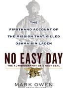La copertina di 'No easy day'