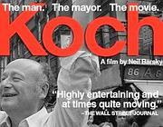 La locandina del film  documentario su Koch