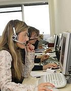 Un call center (LaPress)