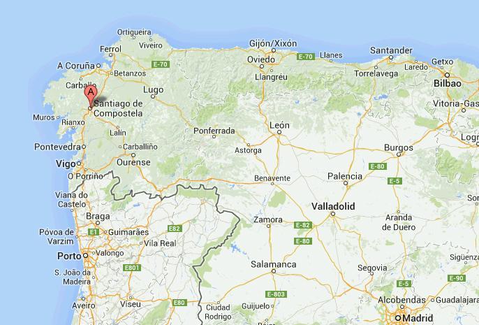 Galizia Cartina.Corriere Della Sera La Mappa Dell Incidente