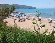 La spiaggia «Le saline» di Palinuro (provincia di Salerno)