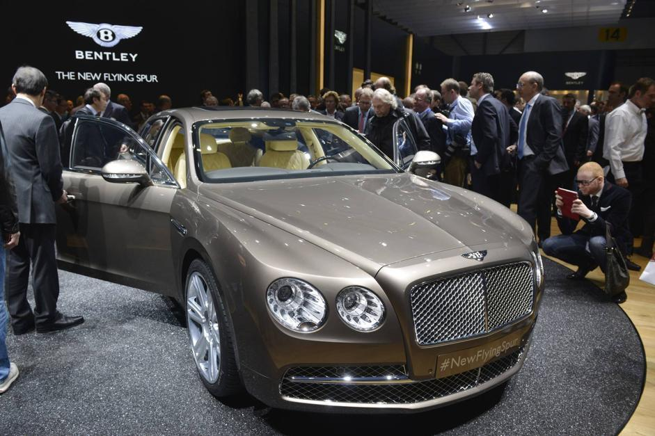 Bentley Flying Spur (Afp)