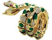 Un aspide fatta di oro e diamanti - Corriere.it d7b508678c9