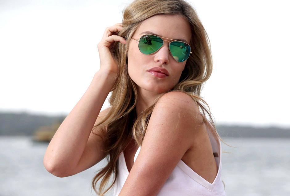 Il ritorno degli occhiali a specchio - Occhiali ray ban aviator specchio ...