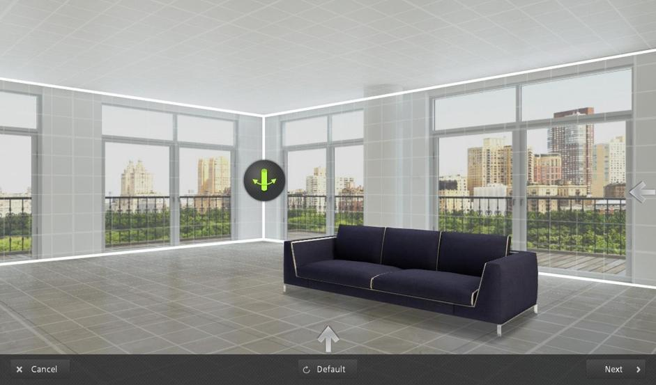 Lu0027app Homestyler Realizza Un Rendering In Tre Dimensioni Della Stanza E  Basta Inserire Le