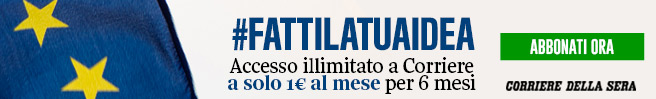 Abbonati al Corriere della Sera.it