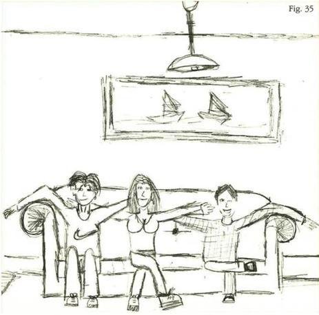 la figura paterna nei disegni dei bambini