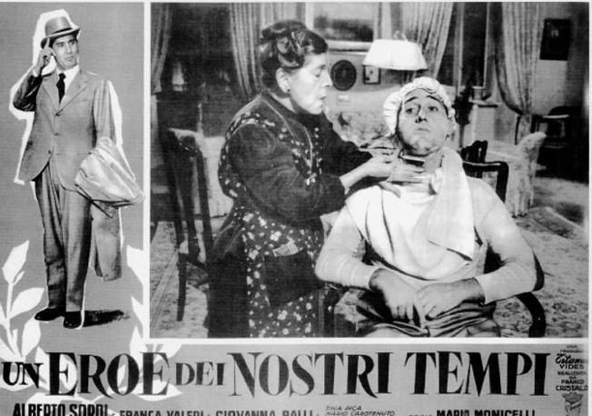 Il cinema secondo Begood: Un eroe dei nostri tempi (Monicelli 1955)